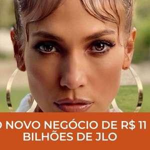O novo negócio de R$ 11 bilhões de Jennifer Lopez!