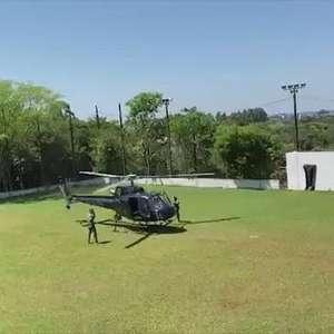 Delegado-geral da Polícia Civil do Paraná chega em Cascavel