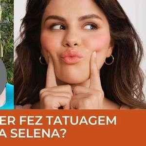 Justin Bieber fez uma tatuagem secreta para Selena Gomez?