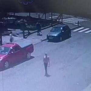 Imagens de câmera de segurança registra sequestro de Tamires Gemelli