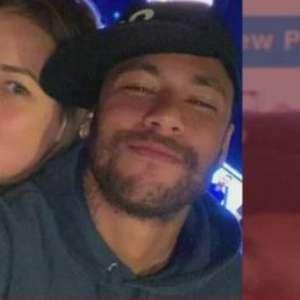 Neymar envia mensagem carinhosa à ex na web e ganha elogios