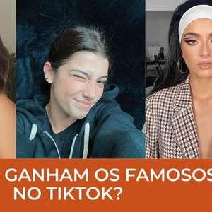 Quem são os famosos que mais lucram no TikTok?