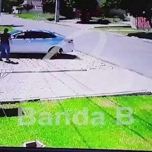 Vídeo: idoso reage a assalto e mata um assaltante em Curitiba