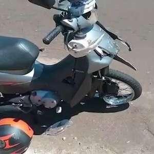 Jovem fica ferido em acidente de trânsito no Jardim Parizotto em Toledo