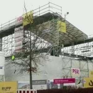 Maior edifício impresso em 3D da Europa está em construção