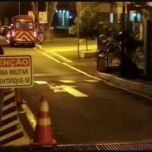 Mulher em surto é socorrida no interior do Batalhão da PM em Londrina
