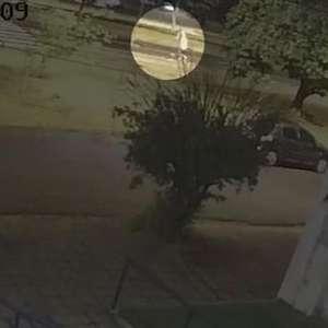 Vídeo mostra o momento em que homem é atropelado em Londrina