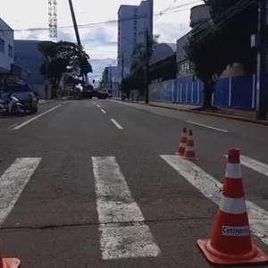 Atenção condutores! Trecho da Rua Rio Grande do Sul está fechada neste domingo