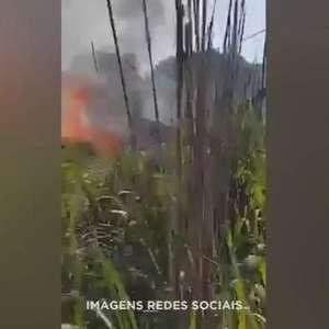 Acidente aéreo mata presidente e 4 jogadores do Palmas Futebol e Regatas - TO
