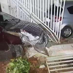 Homem é detido por embriaguez após bater contra muro no Parque Verde