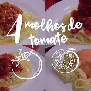 Molhos de tomate caseiros