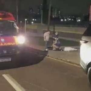 Idosa morre atropelada em Curitiba e empresário é detido