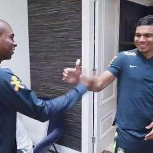 Marcelo e Casemiro chegam e Seleção está completa em Londres