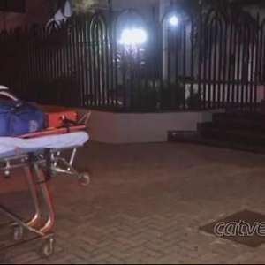 Mulher cai de escada e fica ferida no Centro de Cascavel