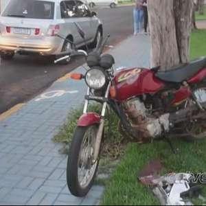 Homens ficam feridos em acidente registrado na Vila Industrial em Toledo