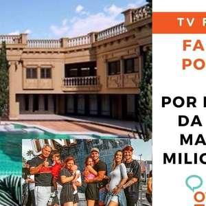 A nova mansão milionária da família Poncio!