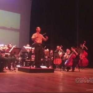 Banda do Exército e Orquestra de Cascavel marcam início da Semana do Soldado