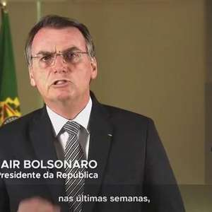 Presidente Jair Bolsonaro fala sobre incêndio na Floresta Amazônica