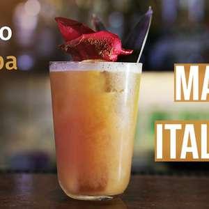 Mambo Italiano: faça um drinque do melhor bar do mundo em casa