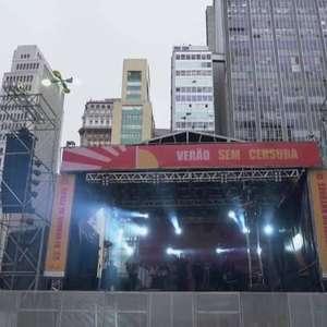 Festival 'Verão sem censura' começa em São Paulo