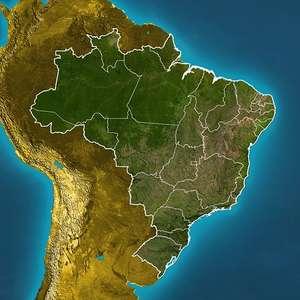 Previsão Brasil - Risco de chuva forte no Sudeste