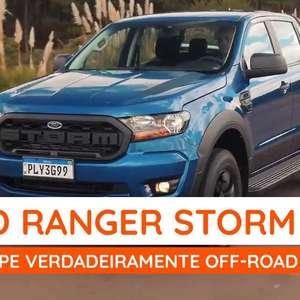 Ford Ranger Storm, uma picape para quem curte off-road