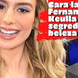 Fernanda Keulla fala de espinhas e revela segredos de beleza