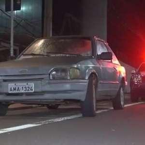 Ladrão tenta dar tranco em veículo furtado, mas é flagrado pela GM