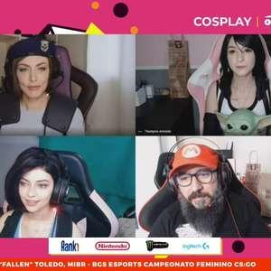 Fãs capricham nos cosplays da Brasil Game Show