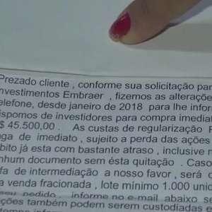 Estelionatários tentar lucrar com falsas ações enviadas por cartas em Cascavel