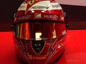 Massa vai homenagear escuderia italiana em capacete Foto: Instagram / Reprodução