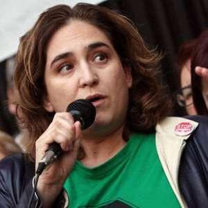 Ada Colau no irá a la manifestación de la Diada