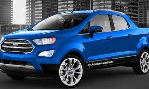 Ford Courier, inédita picape compacta, ganha 1ª projeção