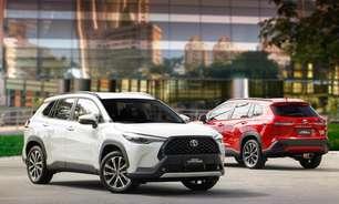Corolla Cross já supera Corolla sedã nas vendas da Toyota