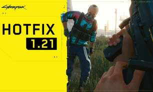 Cyberpunk 2077 recebe patch 1.21 com mais correções de bugs