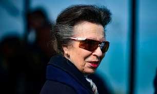 Princesa britânica Anne é vista em público pela 1ª vez desde morte do príncipe Philip