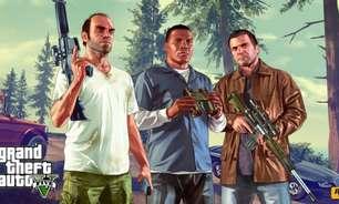 Promoção na PS Store tem GTA 5 mais barato e descontos de até 80%