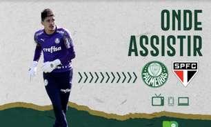 Palmeiras x São Paulo: saiba onde assistir ao duelo pelo Paulistão