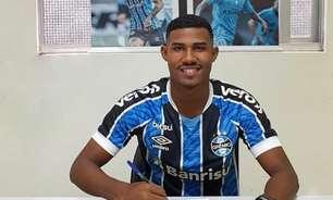 Monitorado por clubes europeus, lateral Luis Eduardo renova com o Grêmio até 2024