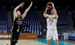 Líderes, Real Madrid e Barcelona vencem na Liga ACB
