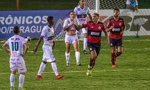 Portuguesa sai na frente, mas Fla empata com gols de Pedro