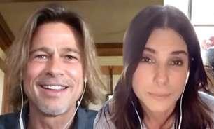 Brad Pitt e Sandra Bullock trocam participações especiais em seus novos filmes
