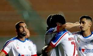 Bahia chega a sua 5ª goleada na temporada 2021
