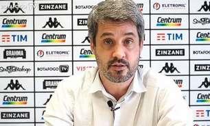 Diretor de futebol do Botafogo exalta dedicação de Chamusca e fala em corte de R$ 1,5 milhão com custos