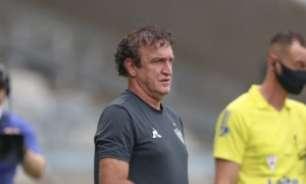 Cuca diz que gostou da atuação do Atlético-MG, reclama de 'interrogatório' e explica ausência de Zaracho do time titular