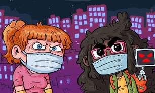 Jogo brasileiro de luta contra quem não usa máscara ganha demo gratuita