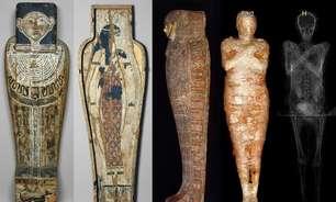 A surpreendente história por trás da 1ª múmia egípcia grávida descoberta