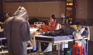 Índia bate recorde de mortes diárias pelo novo coronavírus