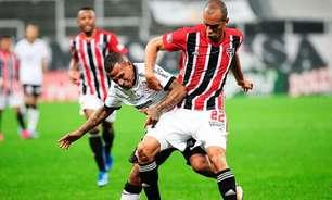 São Paulo busca empate nos acréscimos contra o Corinthians