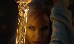 Marvel revela cenas de Angelina Jolie em 'Os Eternos'